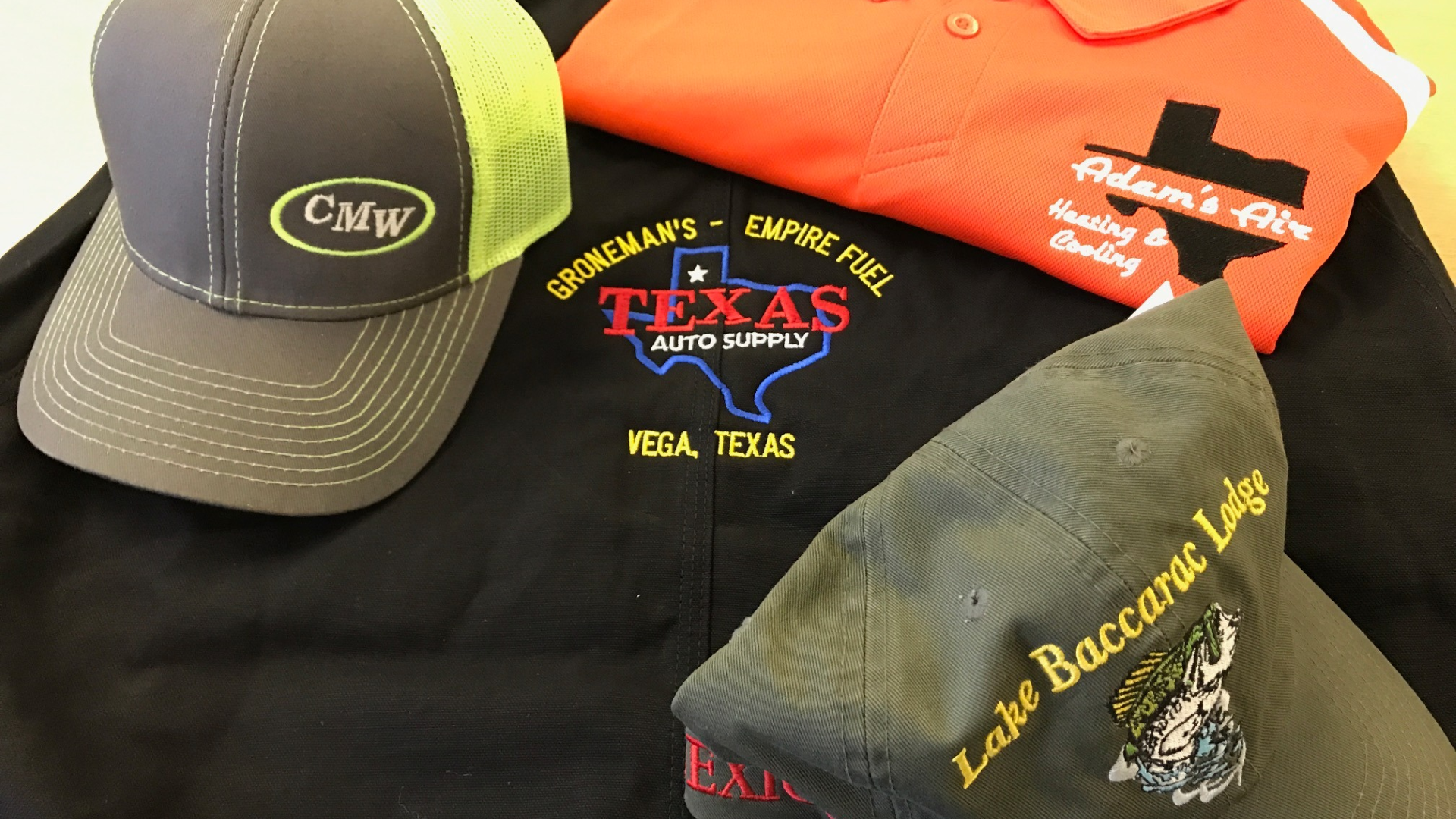 Custom Embroidered Shirts And Hats – DACC